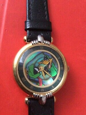 £42 • Buy Warner Bros Fossil Watch Marvin The Martian & Daffy Duck Wb