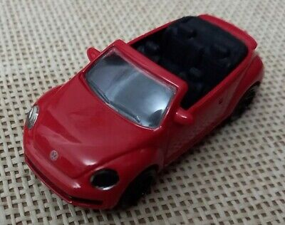 $ CDN4.25 • Buy Vintage Majorette VW Beetle Red 203A Made In Thailand