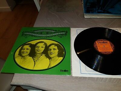 £7.99 • Buy Boswell Sisters - Sweet Harmony , Hot Rhythm. 1975 Decca / Vocalion Lp Ex Condit