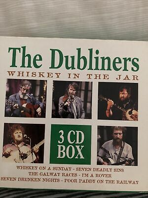 £2 • Buy The Dubliners Whiskey In The Jar 3 X CD Set RARE 1998 BX 853702