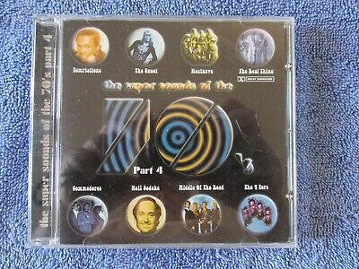 £2 • Buy The Super Sounds Of The 70's Part 4. CD  (Various Artists)