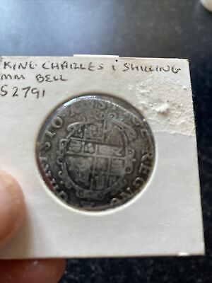£75 • Buy Charles I, Shilling 1634-1635, Tower Mint, MM Bell. H33
