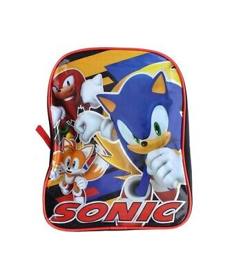 £5.66 • Buy Sonic The Hedgehog Boys Toddler School Baby 11  Backpack Book Bag Toy Gift Tail