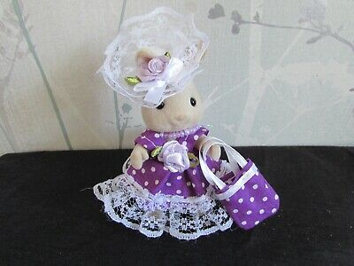 £5.99 • Buy Sylvanian Families - Hand Made Clothes - New Dress, Hat & Bag For Adult - J1