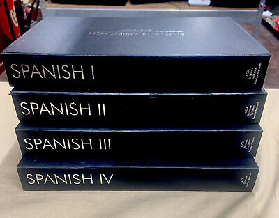 £74.33 • Buy Pimsleur Approach Learn To Speak Spanish Language Ol 1 2 3 4 Gold Edition 64 CD