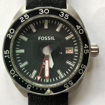 $ CDN14.94 • Buy Fossil Men's Breaker Silicone Watch FS5053 For Parts Or Repair