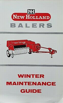 £1.50 • Buy New Holland Instructions For Winter Maintenance Of Balers1950's? 4 Pg