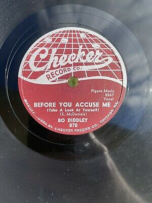 £14.16 • Buy BO DIDDLEY, CHECKER RECORD Co., 878, 78 Rpm,  SAY! & BEFORE YOU ACCUSE ME
