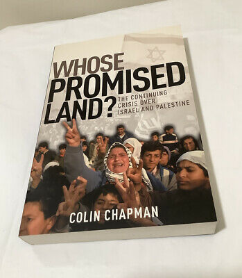£4.24 • Buy Whose Promised Land?-Colin Chapman (2002 Baker Paperback Edition)
