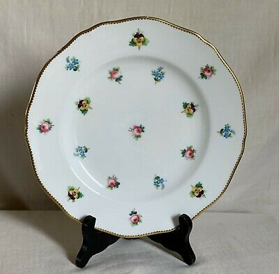 £14.54 • Buy Minton 1870s Green Mark Luncheon/cabinet Plate  Vieux Nyon  Style.