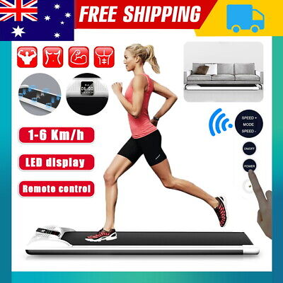 AU279 • Buy LCD Electric Treadmill Home Gym Exercise Machine Fitness Equipment Compact AU