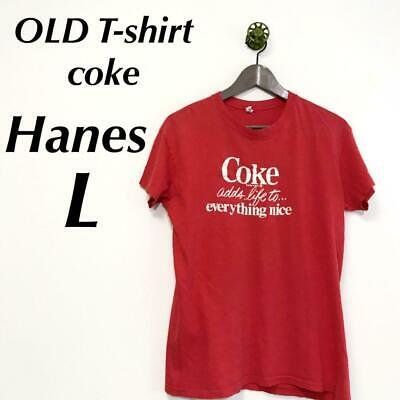 £52.38 • Buy Mens T-Shirt Coca Cola Old Girl In Used Clothes Second-Hand Boy Hanes Stylish