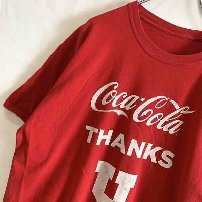 £36.10 • Buy Advertising T-Shirt Coca Cola Yuru Dubbo Second-Hand Boy Girl In Used Clothes