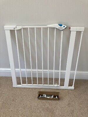 £24.99 • Buy Lindam Easy Fit Plus Deluxe Pressure Fit Safety Gate - 76-82 Cm, Plus 7 Cm Ext