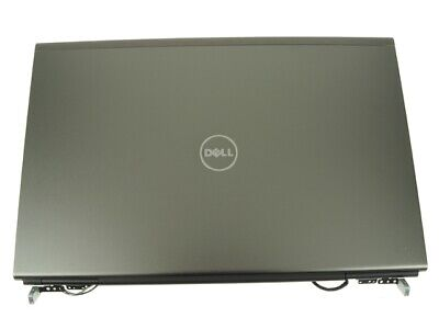 $29.95 • Buy Dell OEM Precision M6600 17.3  LCD Back Cover Lid Assembly  Hinges RW56J