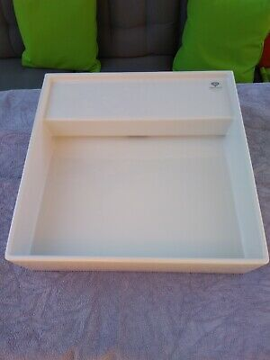 £140 • Buy Laufen Kartell Wall Hung Square Sink In Brilliant White With No Tap Hole