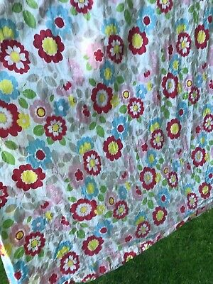 £29 • Buy Cath Kidston Rare Red Floral Single Duvet Cover And Pillowcase
