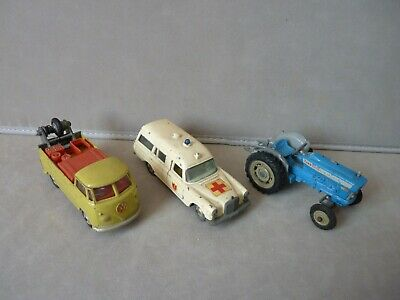 £9.95 • Buy Corgi Ford Tractor / Volkswagen Recovery Truck / K6 Ambulance