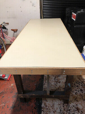 £145 • Buy Work Bench Solid Wood With Vice Excellent Condition Collection Blackpool