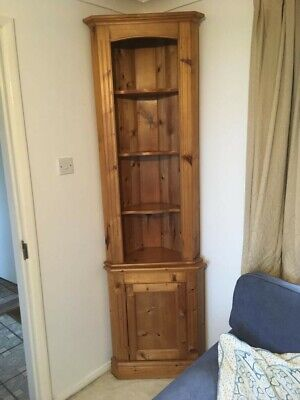 £10 • Buy Stained Pine Corner Unit