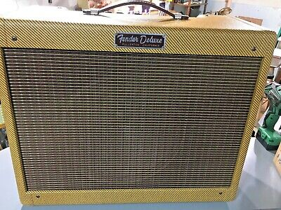 £1168.60 • Buy Lightning Tweed Deluxe Point To Point Hand Wired Amp Lacquered Cabinet