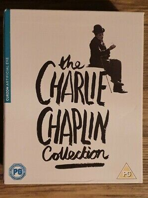 £45 • Buy The Charlie Chaplin Collection - 11 Discs Blu-ray Boxset - The Kid, Limelight