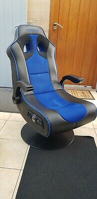 £65 • Buy X Rocker Adrenaline Gaming Chair For Xbox One And PS4 - Black & Blue