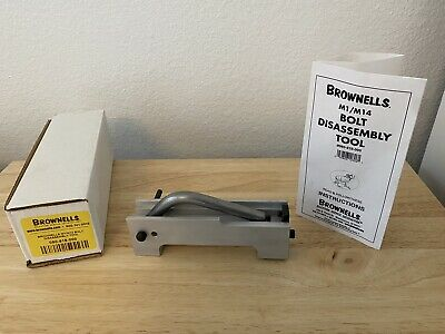 $17.39 • Buy Used Brownells Garand Bolt Disassembly Tool Model 080-818-000