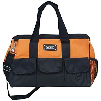 AU44.26 • Buy Vorx 17  Tool Bag, Heavy Duty Nylon Tool Bag For Power Tools And Hand Tools