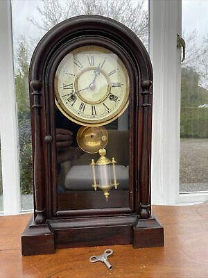 £175 • Buy 19th Century American New Haven Mantle Clock. FWO.