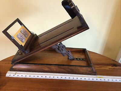 £149 • Buy Handsome Vintage/ Antique Table Top Stereoscopic Viewer And 6 Slides