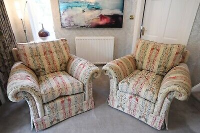 £135 • Buy 2 Duresta Armchairs - Good Condition - Can Come As Suite Of 3 With A Sofa