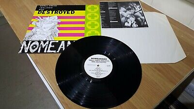 £24.99 • Buy *RARE* NoMeansNo Small Parts Isolated And Destroyed VIRUS63 NM LP + Insert
