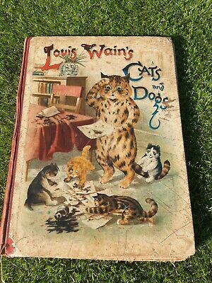 £130 • Buy 1902 Louis Wain's Cats And Dogs Book Published By Raphael Tuck And Sons. Co. Ltd
