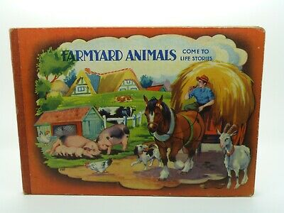 £15 • Buy Farmyard Animals Come To Life Stories - Pop-up Book