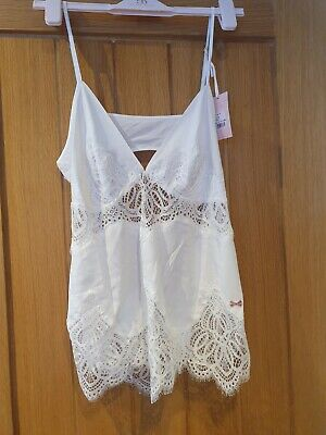 £20.50 • Buy Ted Baker Top - TB Tie The Knot Cami Size 14 Ivory