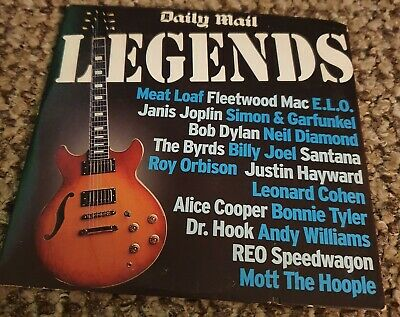£1.99 • Buy Legends  20 Tracks  Daily Mail Promo Music Cd