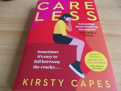 AU53.03 • Buy Careless, Kirsty Capes SIGNED FIRST EDITION,1st Imp,Yellow Sprayed Edges,HB NEW