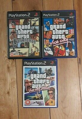 £2 • Buy PlayStation 2 Games  - Grand Theft Auto Bundle
