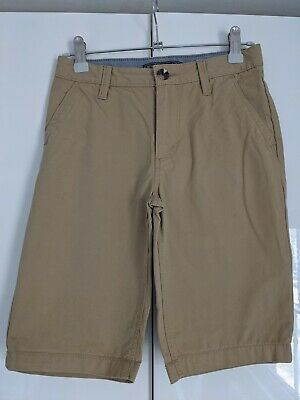 £2.50 • Buy Boys Beige / Stone Coloured Chino Shorts Age 9-10 Yrs From H&m Adjustable Waist