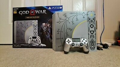 AU432 • Buy Limited Edition God Of War PS4 Pro Console Leviathan Grey