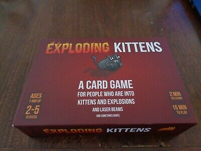 AU19.99 • Buy Exploding Kittens Card Game. Unwanted Present, Like New