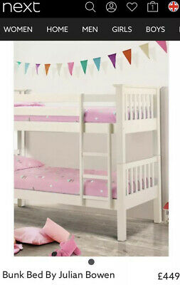 £40 • Buy White Wood Bunk Beds