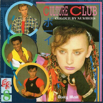 £5.99 • Buy Culture Club: Colour By Numbers Super Rare Collector Promo CD By Daily Mail
