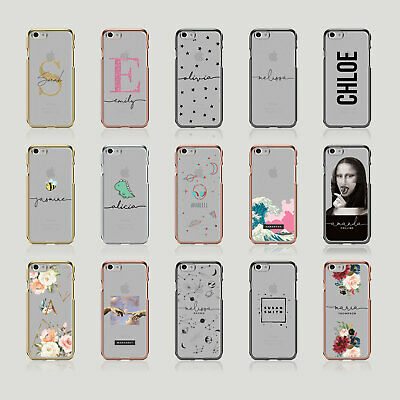 £0.99 • Buy Tirita Personalised Soft Case For IPhone 7 8Plus SE X 6S 5S Glitter Stars Floral