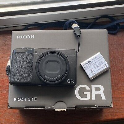 View Details Ricoh Gr III Compact Digital Camera - TWO BATTERIES! • 600.00£