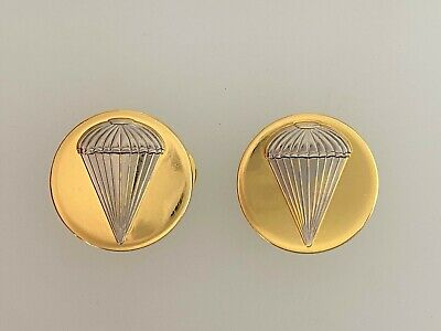 £9.95 • Buy United States Army PARATROOPERS Metal Collar Discs Badges. WW2 Style PAIR