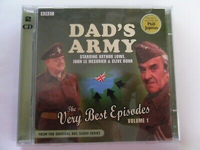 £2.50 • Buy Dad's Army   The Very Best Episodes Vol 1   Comedy Audio Two Cd Album   Ex