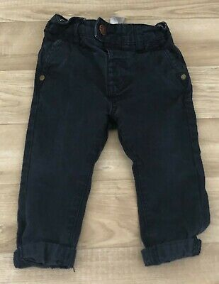 £6 • Buy Baby Boys Navy Next Chinos Size 9-12 Months