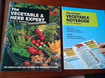 £4.99 • Buy The Vegetable And Herb Expert Book/The Expert Vegetable Notebook By Dr.Hessayon